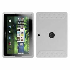 Solid Skin Case Cover Translucent White For Blackberry Playbook