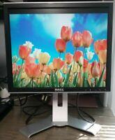 "Dell 1708FP UltraSharp 17"" Monitor 4-Port USB Hub 1280x1024 DVI VGA FP816 KU789"