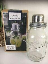New Studio Mercantile Mason Jar Cocktail Shaker - 32 oz