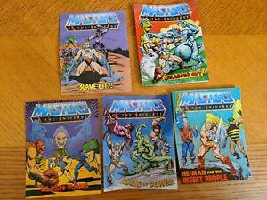 Vintage 1983 Masters of the Universe Mini Comics Lot of 5