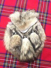 Scottish Kilt Sporran en fourrure Renard/Fox fur Kilt sporrans/Homme sporrans/kilt Sporrans
