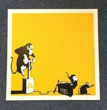 Banksy Dealer or Reseller Original Art Prints