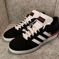 *New* Adidas Busenitz Black White Scarlett Red Sneakers B22767 Men's Size 10.5