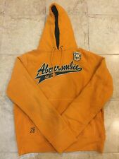 Abercrombie And Fitch Men's Size Large Yellow Hoodie