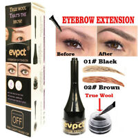 3D Eyebrow Extension Fiber Enhancer Brush Eyebrow Gel Tint Cream Pen new FR