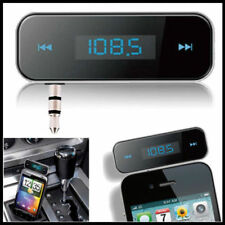 Wireless Music to Car Radio FM Transmitter For 3.5mm MP3 for iPod iPhone Tablets