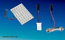 PANNELLO luci posizione 48 LED t10 t11 hyper led bianca auto 6000K