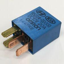 Hyundai & Kia (00-16) Multi-Use 4-Pin Blue Relay Omron 95224-2D000 12V -#69
