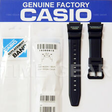 CASIO 10360816 GENUINE FACTORY REPLACEMENT BLACK BAND FOR: SGW-300H, SGW-400H