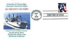 TRINITY VICTORY Ship named: Trinity Washington University Washington, DC Cover