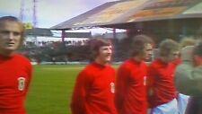 Wales 0-2 England 11-05-1974 BHC match, Davies, Roberts, Keegan, Shilton on DVD.