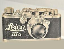 Rare Leica brochure