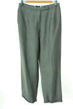 GIANNI Hose Trousers Pants Viskose Mohair Damen Gr. DE 42 /US 12 in Grau