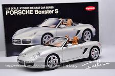 Kyosho 1:18 Porsche BOXSTER S RS60 Silver