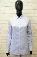 Camicia Donna Fred Perry Taglia M Blusa Maglia Manica Lunga Shirt Woman Casual
