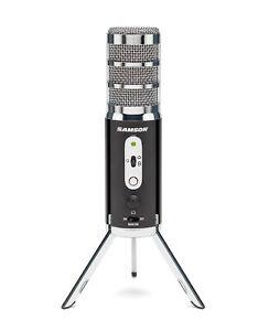 Samson Satellite Recording USB/iOS Microphone Computer iPad iPhone Streaming Mic