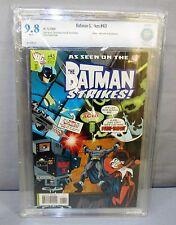 BATMAN STRIKES #43 (Harley Quinn cover & app.) CBCS 9.8 NM/MT DC Comics 2008 cgc