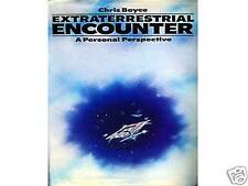 EXTRATERRESTRIAL ENCOUNTER What Will They Be Like? by Chris Boyce Hardback 1979