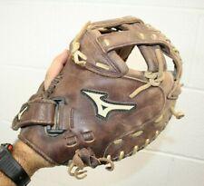 "New listing Mizuno GXS-90F3 34"" Women's Fastpitch Softball Catchers Mitt Right Hand Throw"