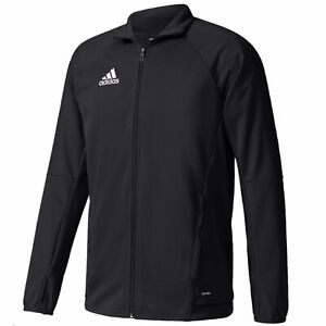 adidas Men's Tiro 17 Black Training Jacket