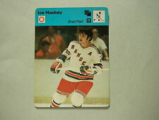 1977 1977/79 SPORTSCASTER NHL HOCKEY PHOTO BRAD PARK NEW YORK RANGERS NICE!!