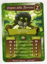 figurina - CARD GORMITI - SERIE 2 SPORIUS