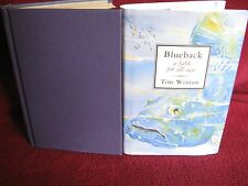 BlueBack - Tim Winton. 1997 1st HbDj.  GENTLE UPLIFTING environmental   in Melb
