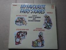 MY FAVOURITE FAIRY STORIES LP  read by nanette newman & richard norman