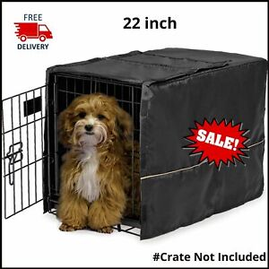 24 - 48 inch Dog Crate Folding Cover Extra Large Breed Pet Cage Washable Cover