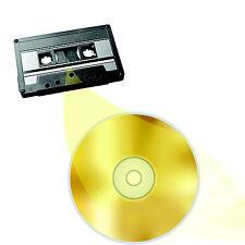Audio Cassette Tape to CD or MP3 Transfer Copy Convert Service