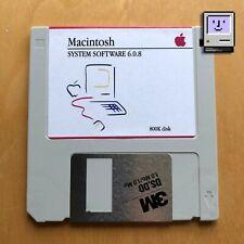  Apple Macintosh System 6.0.8 floppy disk - 800k