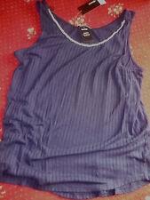 Papaya Women's Sleeveless Vest Top, Strappy, Cami Tops & Shirts