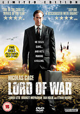 LORD OF WAR - LIMITED EDITION - DVD - REGION 2 UK