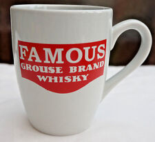 BRAND NEW FAMOUS GROUSE CERAMIC CUP