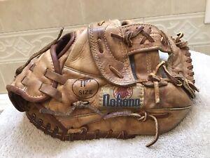 "Nokona AMG-100-OW 11"" Baseball Softball Infielders Glove Right Hand Throw"