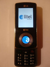Lg Ax585Blk (Alltel) Black Cellular Phone - Clean Esn - Free Shipping - C002
