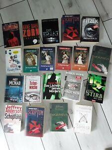 20 Bücher Thriller