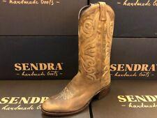 Sendra Boots Cowboystiefel Westernstiefel  Reitstiefel 1627 Braun