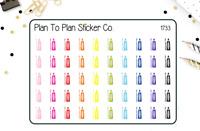 AT THE DENTIST Cardstock Sticker 10781 Karen Foster Floss Brush Teeth