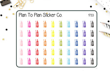 1733~~Toothbrush/Dentist Planner Stickers.