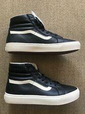 Vans Sk8-Hi Cup CA - (Leather) Black / Whisper White VN000177LA6
