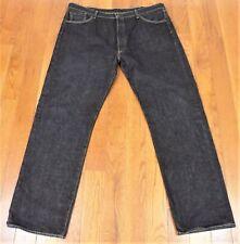 LEVI'S 501~Tag W44 L36~Button Fly~Black~Jeans~Measures 41X33