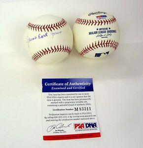 James Earl Jones Star Wars Field of Dreams Signed MLB Baseball PSA/DNA COA