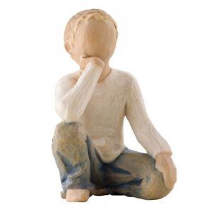 DEMDACO  Willow Tree - Inquisitive Child/ Neugieriges Kind - ca. 7,5 cm - 26227