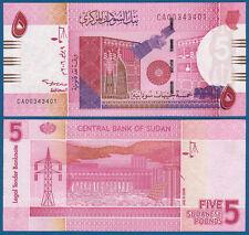 SUDAN 5 Pounds 2006  UNC   P. 66