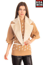 Mm6 Maison Martin Margiela Sherpa Waistcoat Lapel Size S Self Tie Made in Italy