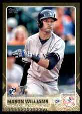 2015 Topps Update Gold Foil Mason Williams RC #/2015 #US83