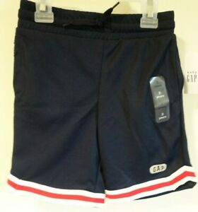 Brand New Baby Gap Red White Blue Athletic Shorts Boy's Size 2T