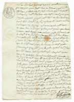 1828 justice manuscript document amazing freemason signature white stamp and bla