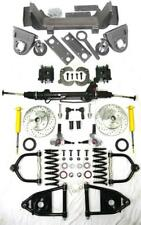 1935-40 Ford Car Truck Mustang II Power Front End Suspension Kit Stock Slotted
